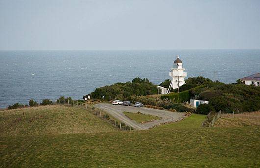 Katiki Point Lighthouse - Moeraki New Zealand