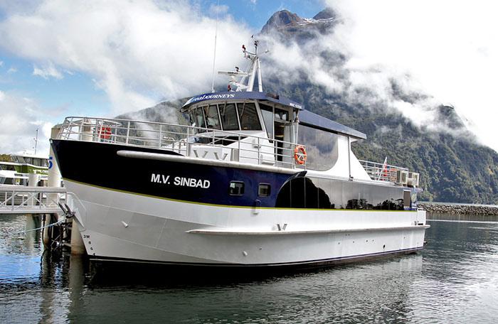 MV Sinbad boat