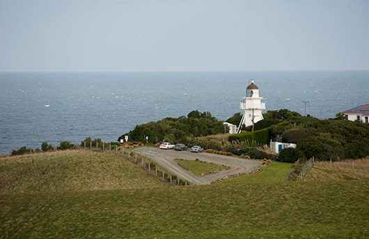 Katiki Point Lighthouse - Moeraki New Zealand