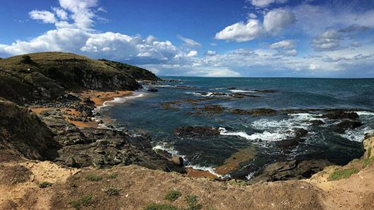 The spectacular Katiki Point Wildlife Management Reserve
